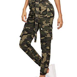 Pantalones de camuflaje para mujer: para no pasar inadvertida